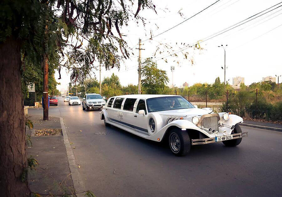 limousine rental service in Bucharest
